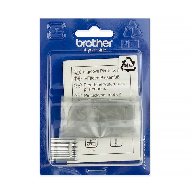 Лапка Brother (для 5 мелких складок)