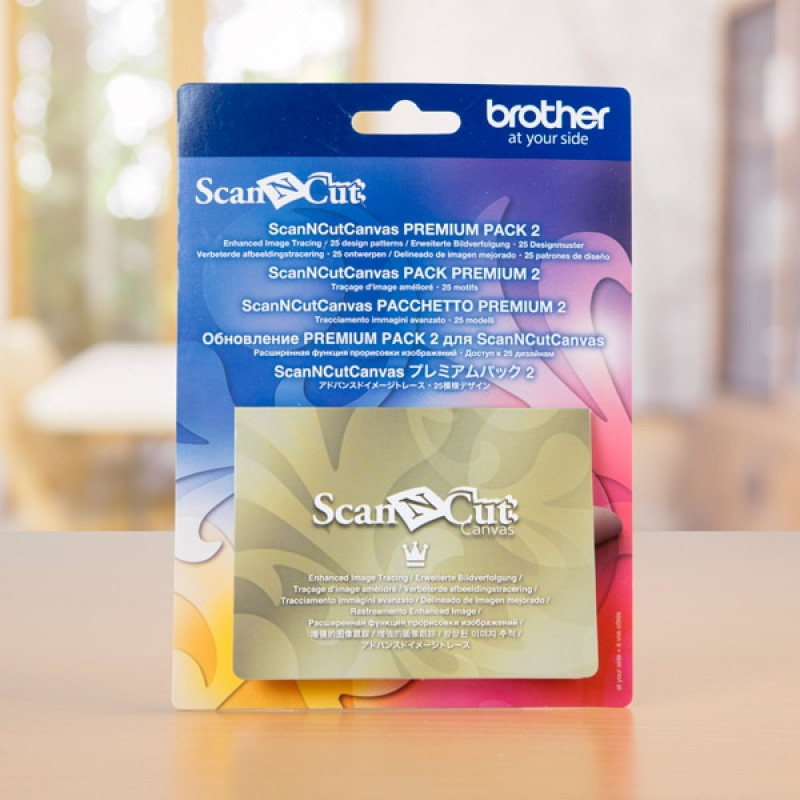 Обновление Brother Scan&Cut Canvas Premium (pack 2)