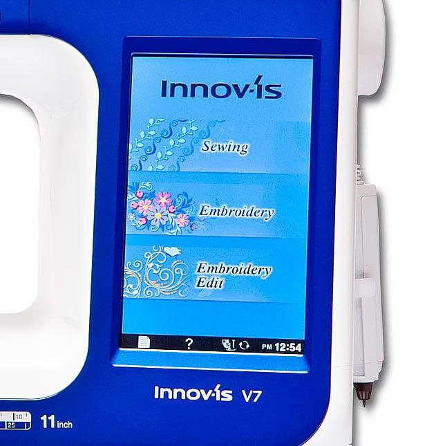 Brother Innov-is V7 дисплей